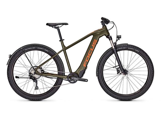 FOCUS Whistler² 6.9 EQP E-mountainbike grøn (2019) | Mountainbikes